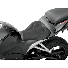 Saddlemen Sportbike Seat - Tech - 2005 Yamaha FJR1300 - FJR13 Sargent World Sport Performance Seat With Black Welt