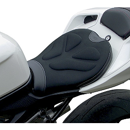 Saddlemen Sportbike Seat - Tech - Carbon Fiber Works Carbon Fiber Tank Cover