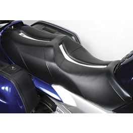 Saddlemen Sportbike Seat - Track - 2005 Yamaha FJR1300 - FJR13 Sargent World Sport Performance Seat With Black Welt
