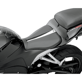 Saddlemen Sportbike Seat - Track - 2010 Ducati Monster 1100S Sargent World Sport Performance Seat With Black Welt