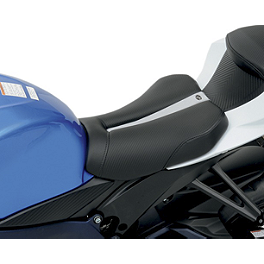 Saddlemen Sportbike Seat - Track Low Profile - Sato Racing Reverse Shift Kit - Black