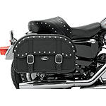 Saddlemen Desperado Straight Saddlebags - Throw Over - DZUS Cruiser Luggage and Racks