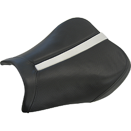 Saddlemen Sportbike Seat - Track Carbon Fiber Look - 2005 Suzuki DL1000 - V-Strom Sargent World Sport Performance Seat With Black Welt