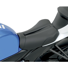 Saddlemen Sportbike Seat - Track Carbon Fiber Look - 2011 BMW S1000RR Sargent World Sport Performance Seat With Black Welt