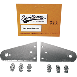 Saddlemen Turn Signal Mounting Tabs - Saddlemen Cruis'N Deluxe Sissy Bar Bag