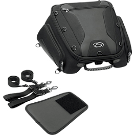 Saddlemen TS1450R Sport Tunnel Bag - 1992 Yamaha XJ600S - Seca II Saddlemen Saddle Skins Seat Cover - Black