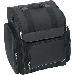 Saddlemen SSR1900 Universal Bike Bag - 2007 Honda VTX1300S Saddlemen Saddle Skins Seat Cover - Black