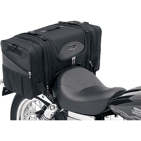 Saddlemen TS3200DE Deluxe Cruiser Tail Bag - Main