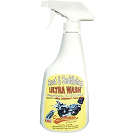 Saddlemen Seat And Saddlebag Wash - 16oz - Saddlemen Desperado Straight Saddlebags - Throw Over