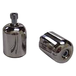Shogun Motorsports Bar End Sliders - Polished - Shogun Motorsports Frame Sliders - Chrome Billet Aluminum