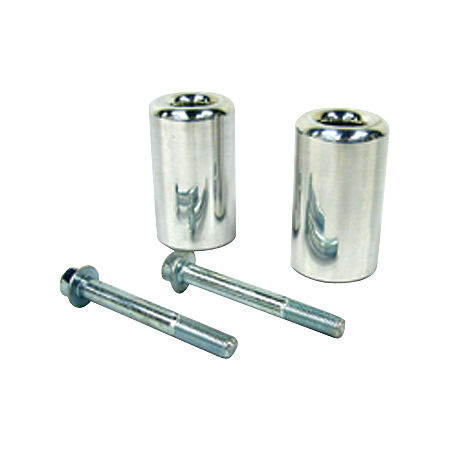 Shogun Motorsports Frame Sliders - Chrome Billet Aluminum - Main