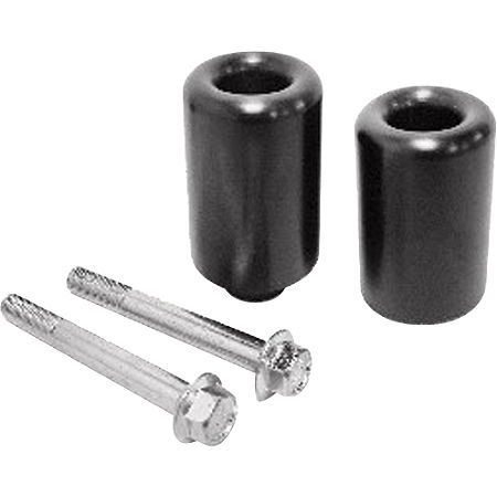 Shogun Motorsports No Cut Frame Sliders - Black - Main
