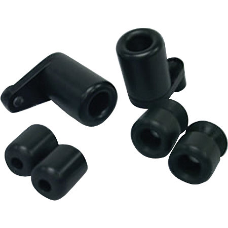 Shogun Motorsports 3 Piece No Cut Slider Kit - Black - Main