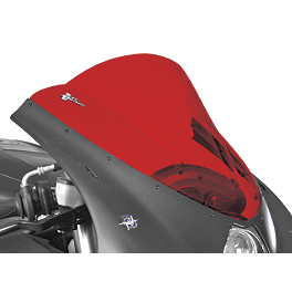 Zero Gravity Double Bubble Windscreen - 2001 Suzuki GSX-R 600 Dynojet Power Commander 3 USB