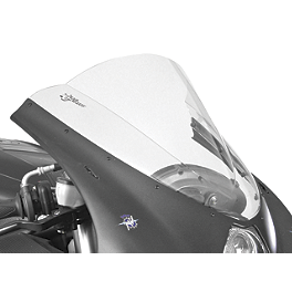 Zero Gravity Double Bubble Windscreen - 2003 Kawasaki ZX600 - Ninja ZX-6RR Puig Racing Windscreen - Dark Smoke