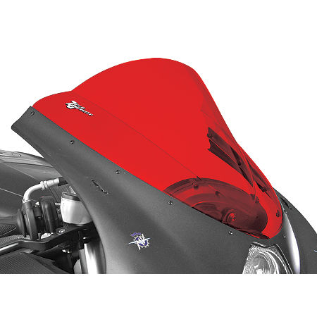 Zero Gravity Double Bubble Windscreen - Red