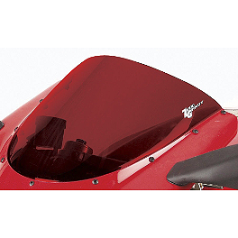 Zero Gravity SR Series Windscreen - 2004 Honda CBR1000RR Yana Shiki LRC Mirror Block Off Caps - Chrome