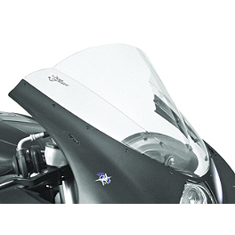 Zero Gravity Double Bubble Windscreen - 2008 Suzuki GSX-R 600 BikeMaster Black Replacement Mirror - Left