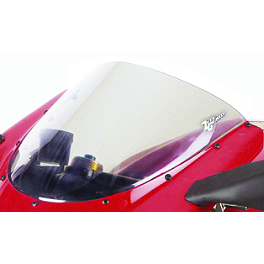 Zero Gravity SR Series Windscreen - 2009 Kawasaki ZX600 - Ninja ZX-6R Puig Racing Windscreen - Smoke