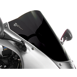 Zero Gravity Double Bubble Windscreen - 2007 Kawasaki ZX600 - ZZ-R 600 BikeMaster Black Replacement Mirror - Left