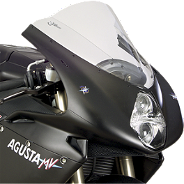 Zero Gravity Double Bubble Windscreen - 2007 MV Agusta F4 1000 R 1+1 Zero Gravity Double Bubble Windscreen