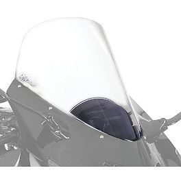Zero Gravity Sport Touring Windscreen - 2002 Honda VTR1000 - Super Hawk Zero Gravity SR Series Windscreen