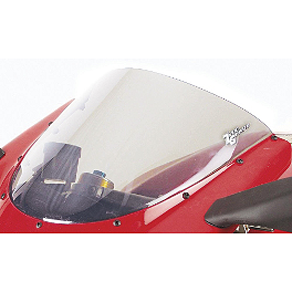 Zero Gravity SR Series Windscreen - 2007 Aprilia Mille Factory Zero Gravity Double Bubble Windscreen