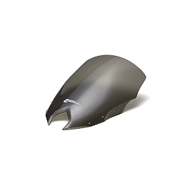 Zero Gravity SR Series Windscreen - 2012 Yamaha FZ6R Zero Gravity Double Bubble Windscreen