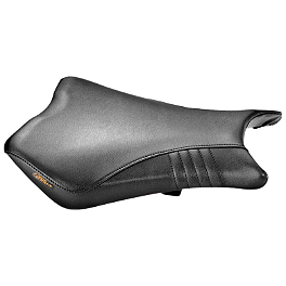 Zero Gravity Latigo Series Sportbike Seat - Black - 2008 Suzuki GSX-R 600 Zero Gravity Double Bubble Windscreen