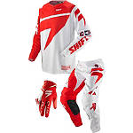 2013 Shift Faction Combo - Skylab - Shift Racing Faction Dirt Bike Pants, Jersey, Glove Combos