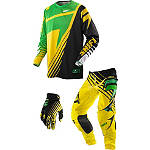 2014 Shift Faction Combo - Satellite - Shift Racing Dirt Bike Pants, Jersey, Glove Combos