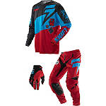 2014 Shift Faction Combo - Slate - Utility ATV Pants, Jersey, Glove Combos