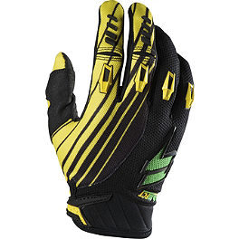 2014 Shift Faction Gloves - Satellite - 2013 SixSixOne 858 Gloves