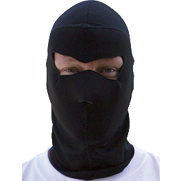 Zan Headgear Coolmax Balaclava Extreme - Zan Headgear Neoprene Full Face Mask With Fleece Neck Shield