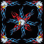Zan Headgear Bandanna - Motorcycle Products