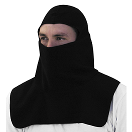 Zan Headgear Fleece Balaclava With Spandex - Zan Headgear Fleece Balaclava Hook-And-Loop