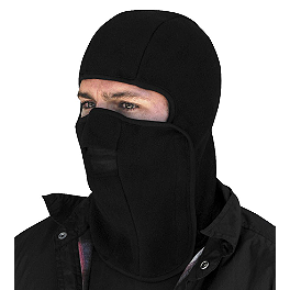 Zan Headgear Fleece Balaclava Hook-And-Loop - Zan Headgear Fleece Half Face Mask