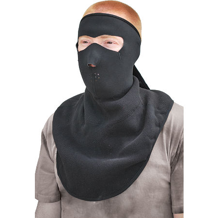 Zan Headgear Neoprene Full Face Mask With Fleece Neck Shield - Main