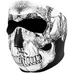 Black-White Skull Face