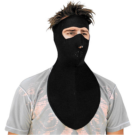 Zan Headgear Neoprene Full Face Mask With Neck Shield - Main