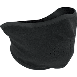 Zan Headgear Fleece Half Face Mask - Zan Headgear Fleece Balaclava Hook-And-Loop