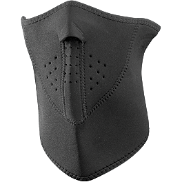 Zan Headgear Neoprene Half Mask 3 Panel - Zan Headgear Fleece Half Face Mask