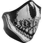 Zan Headgear Neo-X Half Face Mask -  Motorcycle Helmet Accessories