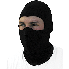 Zan Headgear Neoprene/Coolmax Balaclava - River Road Balaclava - Black