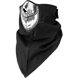 Zan Headgear Neodanna - Skull - Zan Headgear Neo-X Half Face Mask With Neck Shield