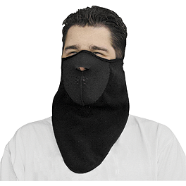 Zan Headgear Neodanna Windbreaker Fleece - Zan Headgear Neoprene Full Face Mask With Neck Shield