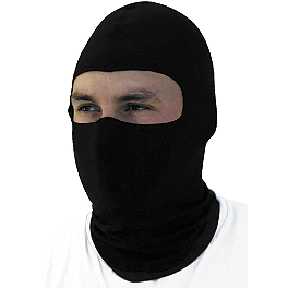 Zan Headgear Nylon Balaclava - River Road Balaclava - Black