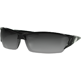 Zan Headgear Utah Sunglasses - Arlen Ness Cat-Eye Softbend Smooth Mirror