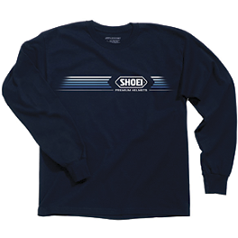 Shoei Speed Long Sleeve T-Shirt - Shoei Speed Zip Hoody
