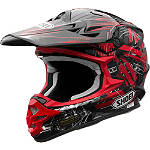 Shoei VFX-W Helmet - Crosshair -  Motocross Chest and Back Protection